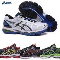 Wholesale Cheap Cushion Asics Gel Nimbus Running Shoes For Men With Fluid Ride Lightweight White Blue Black Green Athletic Sneakers Eur Size