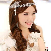 Wholesale Cheap Great Hair - Great Gatsby Cheap Bridal Hair Accessories Crystal Rhinestone Swarovski Wedding Tiaras Crown Pearls Headband Princess Styles Jewelry FASH226