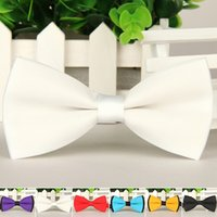 Wholesale Hot Sales Bow Ties For Men Groom Cravat Marriage Butterfly Wedding Bowties Formal Business Dress Wedding Party Ties YE0008
