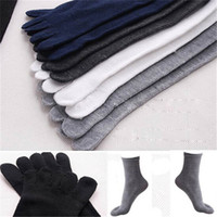 five finger sport shoes venda por atacado-Wholesale-Hot Unisex Homens Mulheres Socks Sports Ideal por cinco 5 dedo Toes Sapatos