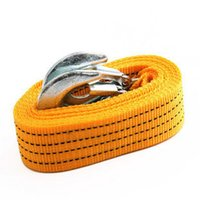 Wholesale 3M Tons Tow Cable Tow Strap Towing Rope with Hooks for Heavy Duty Car Emergency
