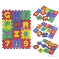 best baby numbers - 36PCS Set Split Joint Number Alphabet EVA Foam Puzzles Mat Baby Child Educational Toy Best Gifts