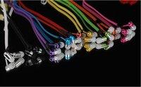 bass copper - 100pcs Metal copper Zipper Headset mm In Ear Zip Earphone Headphone for phones PC IPOD MP3 Metal Bass Earphones Sports In ear headsets