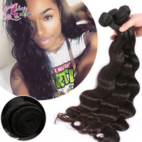 Wholesale Amazing Unprocessed Brazilian Virgin Hair Peruvian Malaysian A Human Hair Weave Bundles Natural Body Wave Hair Extensions