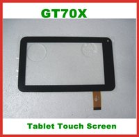 Wholesale Replacement quot Capacitive Touch Screen GT70X GT70DR8850 V0 Digitizer Panel For inch universal Tablet PC