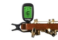 bass stringed instrument - Hot Selling Guitar Tuner Turning degree LCD Digital Tuner for Chromatic Guitar Bass Violin Ukulele Stringed Instrument