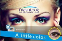 Wholesale Christmas essential HOT FREE Paper Posters Freshlook contact lens colors Contact Lenses Color contact lenses