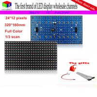 article board - P13 Semi outdoor RGB color pixels scan LED unit board advertising screen Article LED unit module led sign