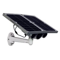 Wholesale New Solar Power G Network Camera m Night vision No need to connect power adaptor not only security but also energy saving