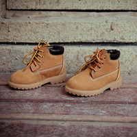Wholesale Children Shoes Kids Leather Shoes Korean Boys Girls Shoes Kids Footwear Autumn Kids Winter Boots Vintage Boots Childrens Boot C14146