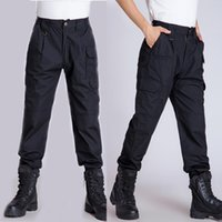 Wholesale New Men Combat Training Pants Tactical Military Camping Trousers Army Grid Pant Poly Cotton Waterproof Hiking Causal Pants CM03