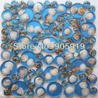 mosaic tile - square feet Amber Mosaic tile wall mosaic tiles AR92 blue