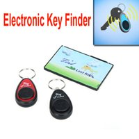Wholesale RF Wireless Anti lost Alarm Electronic Key Finder Set Transmitter Receivers