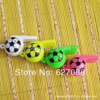 Gros-Lovely jouets en plastique Football Coupe du Monde de football 2,015 sifflet de l'arbitre joie props bar danse sonore jouets Jeu de sport