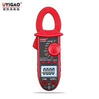 ac dc electricity - Electricity chemical specific electrical instruments Clamp Digital Multimeter AC DC small UA3268D