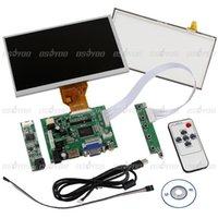 Wholesale High Quality quot LCD Screen Display Touch Panel HDMI VGA Controller Kit for Raspberry Pi Drop Shipping order lt no track