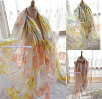 Wholesale Soft Lightweight Floral Scarf Women Large Shawl Bridesmaid Beach Pashmina Cotton Polyester Blend quot long quot wide Head scarf Beach Sarongs