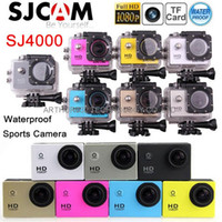 automobile camera recording - Original SJ4000 Extrem Sport Helmet DVRs Car Dash Cam Automobile Waterproof Action Camera Car DVR P Recording Time Camcorder Gopro Style
