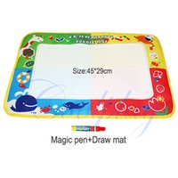 Wholesale New Style Baby cm Water Draw Mat With Magic Pen Water Drawing Board Baby Play Learning And Education