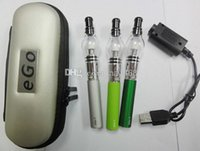 Cheap Newset Ego t starter kit with glass globe atomizer vapor globe atomizer best vape pen vaporizer wax atomizer perfume bulb clearomizer DHL