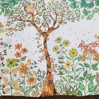 big album - Hot Sell Graffiti Album Secret Garden An Inky Treasure Hunt and Coloring Book Adult Children Painting Book