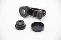 Wholesale New Style Clip Fisheye Lens For Phone Camera Lens universal clip lens for mobile phone up to degrees