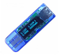 Wholesale USB High Voltage White Bit OLED Detector Voltmeter Ammeter Power Capacity Tester Meter Voltage Current USB Power Bank