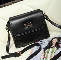 Wholesale 2014 new bag lady shoulder bag diagonal handbags fashion trend Quilted bucket bag Messenger bag