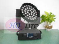 Livraison gratuite effet d'anneau spécial 36pcs populaires 6in1 RGBW + UV Haut Qulity haute puissance Dmx Zoom lavage Beam Led tête mobile