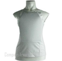 Wholesale White color bpv ts T SHIRT BULLETPROOF VEST BODY ARMOR NIJ IIIA level with cost