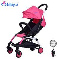 Wholesale Bibyu Ultra light Four Wheel Boarding Folding Baby Stroller Car Kid Carriage Buggy Pram Style Like YOYA Babyzen YOYO Multiple Colors kg