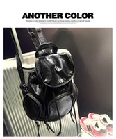 Wholesale The new backpack bags Han edition travel tides wash leather laptop bag hand the bill of lading shoulder bag