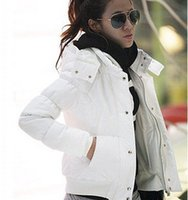 Wholesale Casacos Femininos Autumn And Winter Jackets Women Slim Thickening Hood Short Cotton Padded Jaqueta Feminina Winter Coat Women