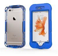 Для iPhone 6 6s Супер водонепроницаемый футляр ПЭТ + PC Условный Upgrade расширенная версия Новый дизайн противоударный телефон Обложка