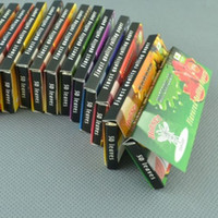 Wholesale Cigarette paper Fruit Flavored Rolling Papers HORNET kinds different flavored rolling papers Threaded paper MM