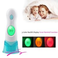 Wholesale New in Multi function Baby Kids Adult Body Ear Forehead Infrared LCD Digital Thermometer