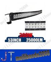 Wholesale 300W Inch CREE LED Work Light Bar Spot Flood Combo Beam Curved LED Light Bar Driving Off Road SUV WD x4 Led lights IP67 V V MYY10420