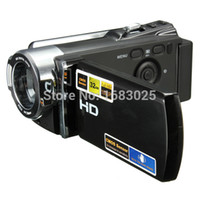 Wholesale Full HD x Zoom Digital Camera DV P CMOS Sensor Rechargeable Automatic Digital Video Recording Camcorder Rotation
