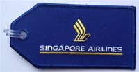 baggage size - Singapore Airlines Embroidered Travel Baggage Luggage Tag Accept Any Color and Size per