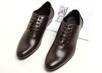 italian shoes - 2014 New Spring Genuine Leather Formal Brand Man Italian Oxford Sneakers Men s Dress Wedding Pointed Toe Shoes
