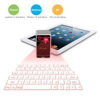Wholesale Hot sales High quality in1 Ultra Portable Laser Projection Virtual Keyboard for iPhone andriod laptop tablet PC Wireless bluetooth mouse