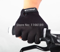 Wholesale 2014 New mountain bicycle semi finger gloves bike half finger cycling sports short gloves Colors