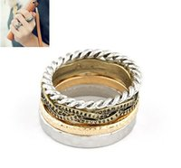 dollar item - Min US Dollar Mix Items SPX3303 New Fashoin Alloy Cute Cuff Punk Ring Rings Designer jewelry E JOY LIFE