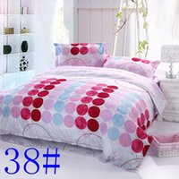 Wholesale 021038 New Luxury Embroidery Tencel Satin Silk Jacquard Bedding Set bedclothes bed linen sheet set Full Queen King Size