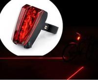 Wholesale Bike Light Cycling Safety Led Lamp Laser LED Bike Laser Light Bicycle Rear Tail Light