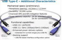 Wholesale usb hub type c to type c usb cable usb3 type c