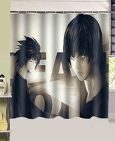 bathroom douche - bathroom products Death Note Hot Anime printed cmx180cm polyester fabric Shower Curtain rideau de douche