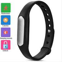 Wholesale Smart Bracelet xiaomi mi band smart Bracelet miband for M4 iOS passometer Fitness Tracker Sleep Tracker Call Reminder