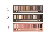 eyeshadow palette - 2015 HOT New Makeup Eye Shadow NUDE Colors Eyeshadow Palette High Quality