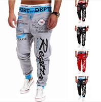 cargo pants - Spring Autumn Millitary Crime Hip hop Fashion Brand Emoji Jogger Sweat Harem Leisure Pants Slimming Pants
